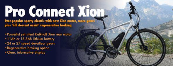 Kalkhoff Pro Connect Xion electric bike