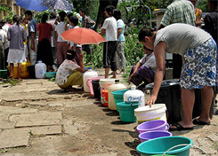 Yangon Myanmar Cyclone Nargis